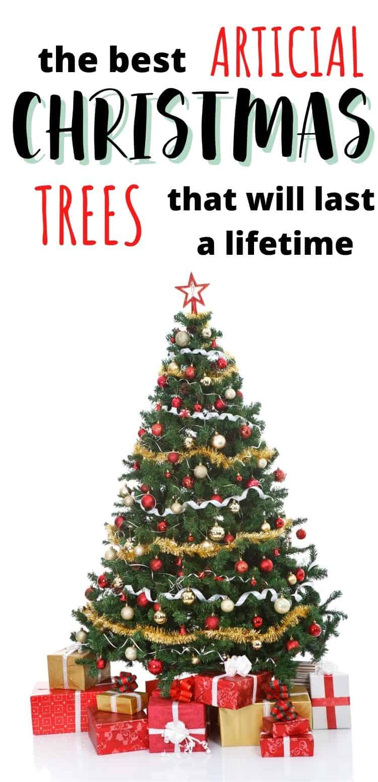 best artificial tree for small spaces/best artificial christmas tree on a budget