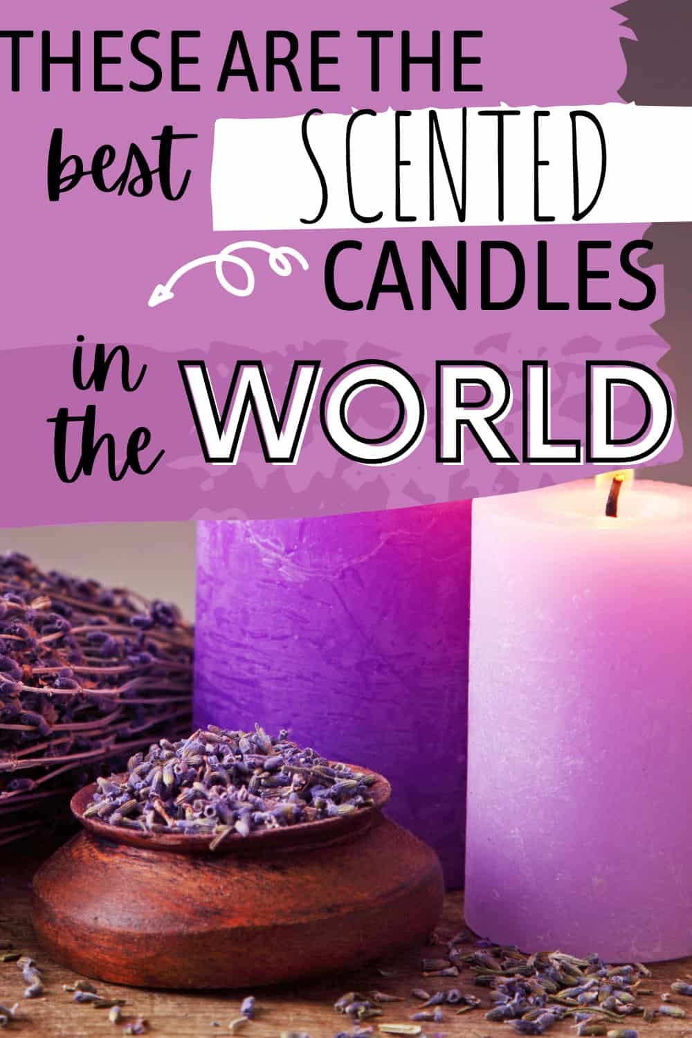 What is the best brand of scented candles?