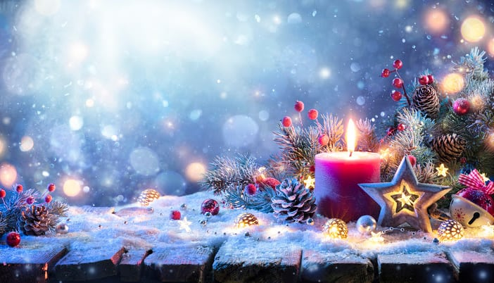 popular christmas candle scents
